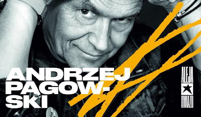 Andrzej Pągowski w Łódzkiej Alei Gwiazd