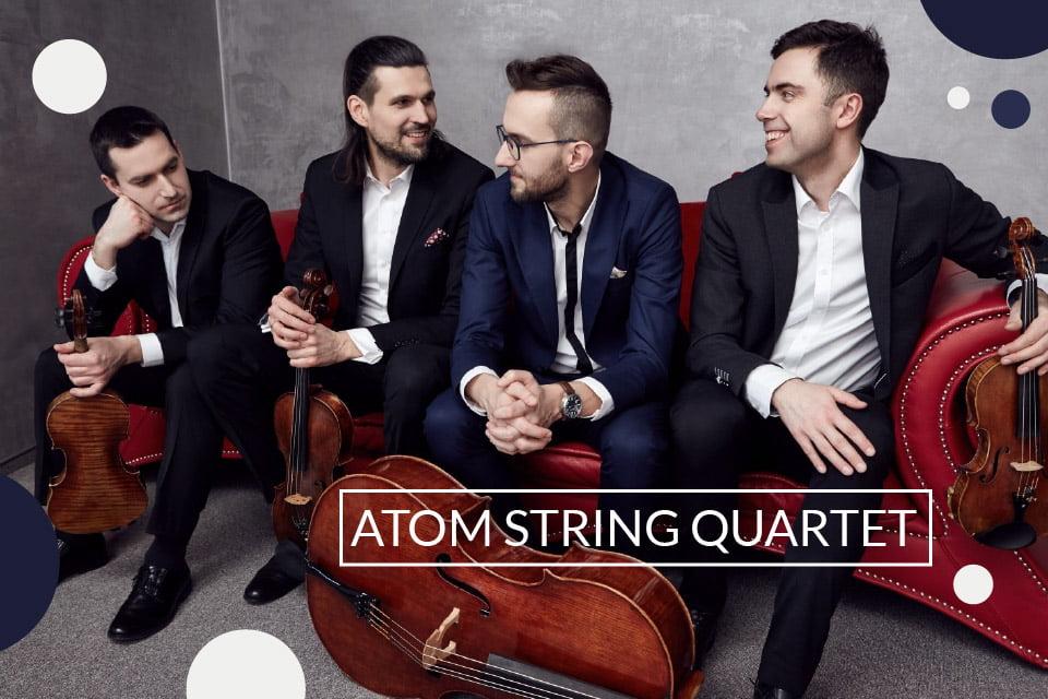 Atom String Quartet | koncert (Łódź 2019)