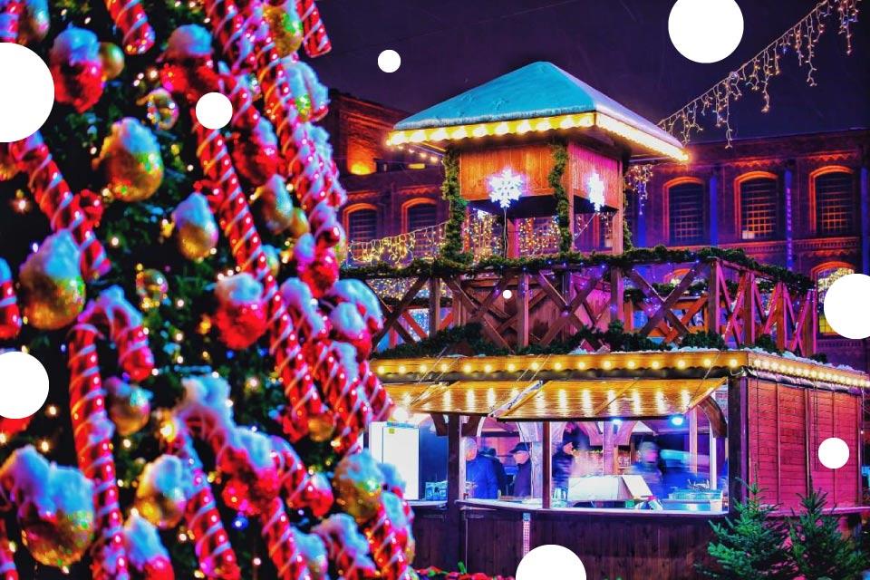 Jarmark Bożonarodzeniowy - Rynek Manufaktury