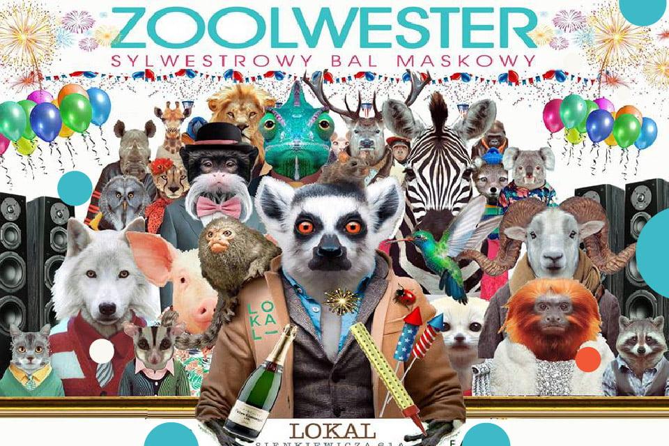 Zoolwester - Sylwestrowy bal maskowy | Sylwester 2018/2019 w Łodzi