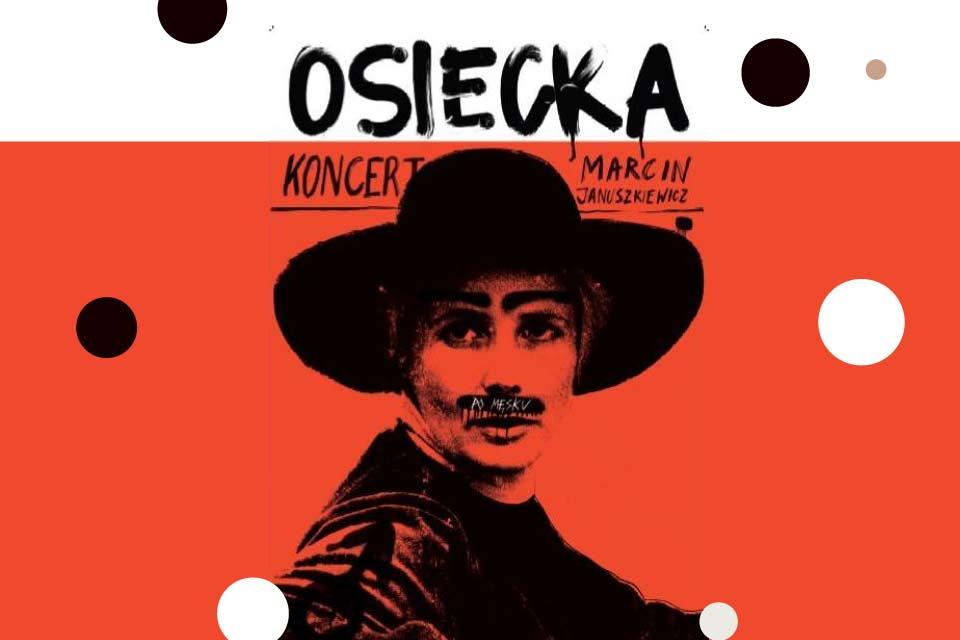 Osiecka po męsku | recital Marcina Januszkiewicza