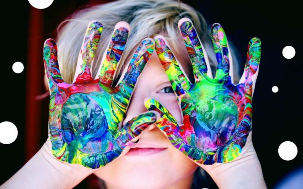 Malujemy Łapkami | warsztat dla dzieciaków