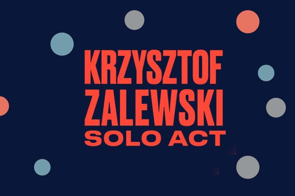 Krzysztof Zalewski | koncert (Łódź 2019)