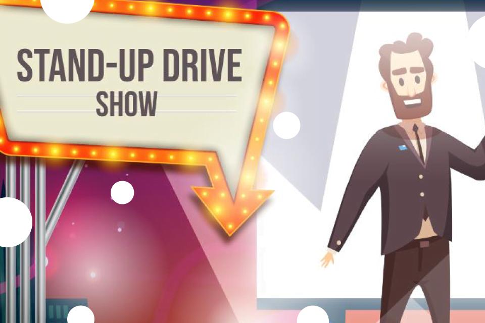 Stand-up Drive Łódź - Bilety