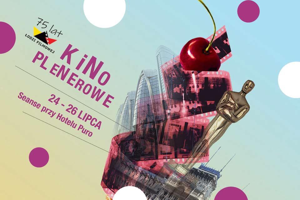 Kino plenerowe na 75. lecie obchodów Łodzi Filmowej